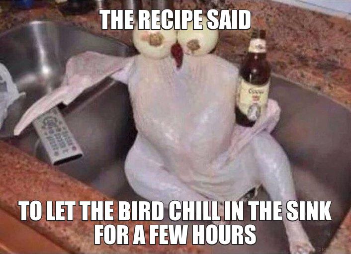 The recipe said