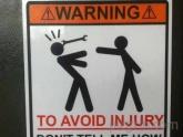 Para evitar lesiones