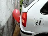 Redneck Parking Sensor