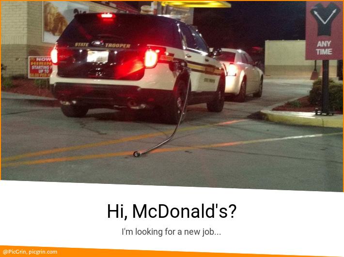 Hi, McDonald's?