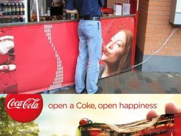 Coca-Cola, open happiness