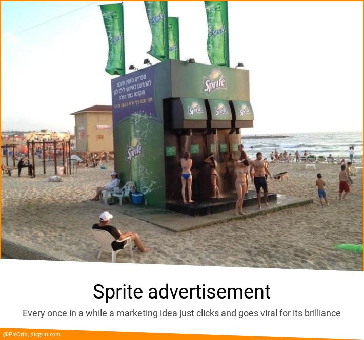 Sprite advertisement