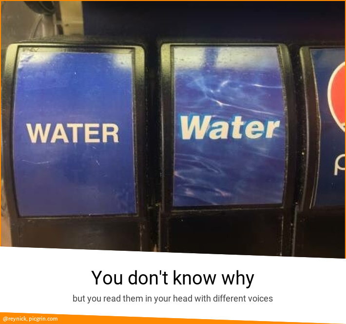 You don't know why