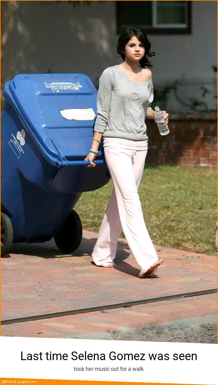 Last time Selena Gomez was seen