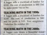 Teaching Math over 50 years