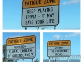 Some roads in Australia are so long and boring