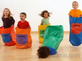 4 out of 5 kids enjoy sack races
