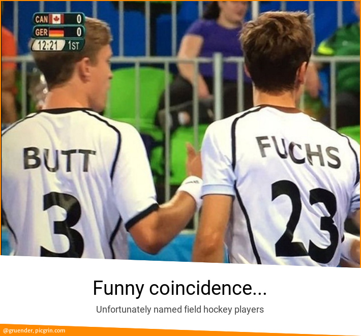 Funny coincidence...