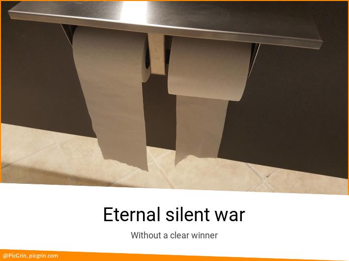 Eternal silent war