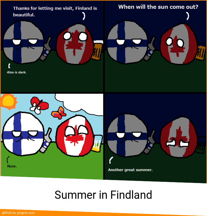 Summer in Findland