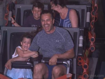 Kids love rollercoasters