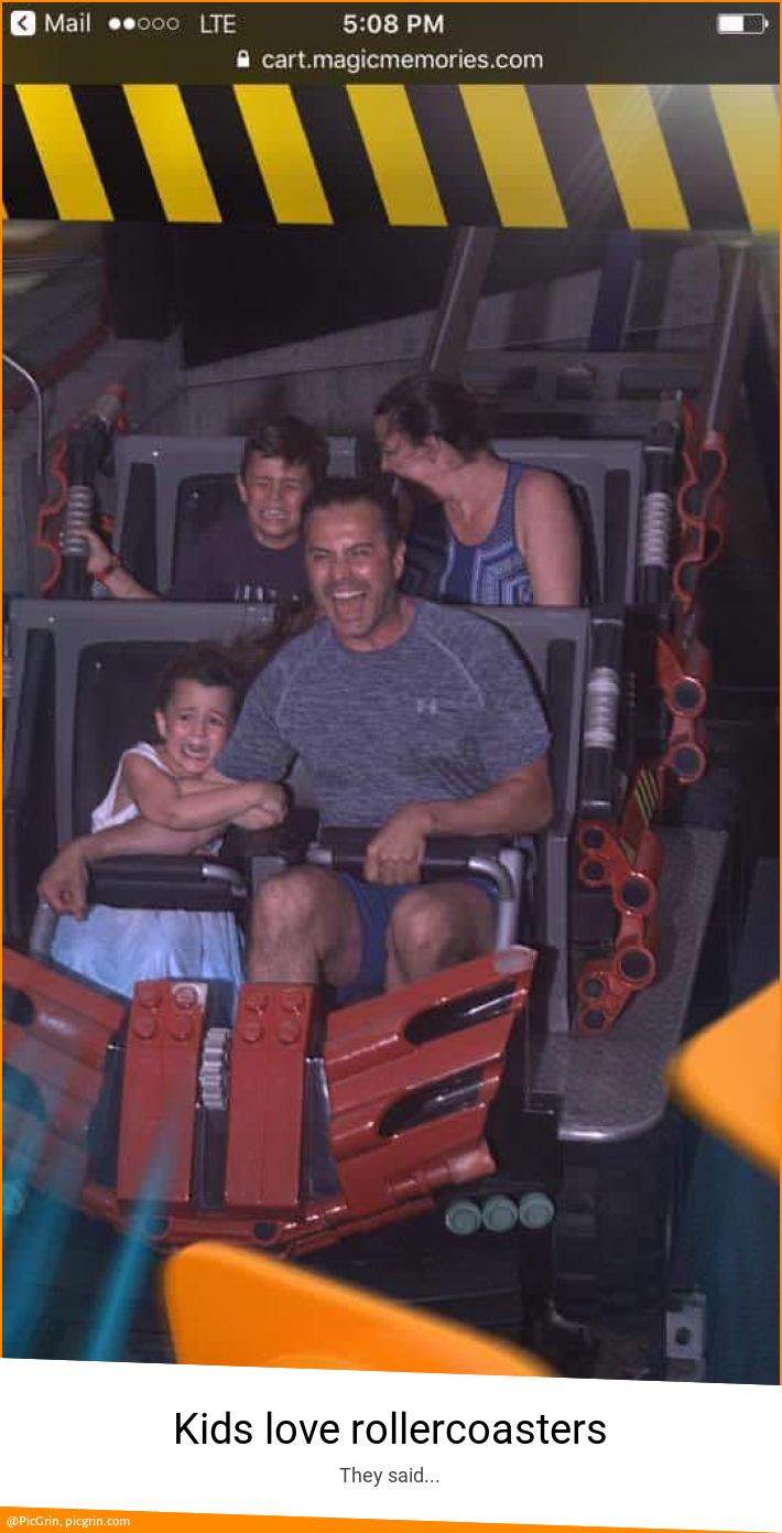 Kids love rollercoasters