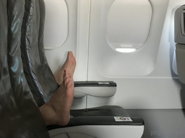 Flying in economy