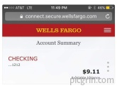 Work until your bank account looks like a phone number