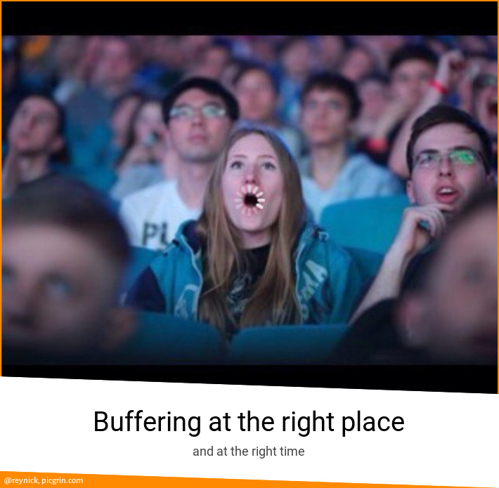 Buffering at the right place
