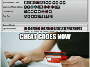 Gamers were cheaters then