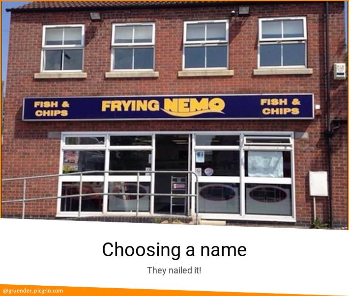 Choosing a name