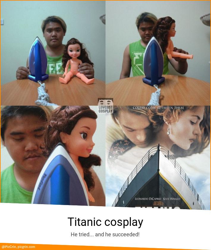 Titanic cosplay
