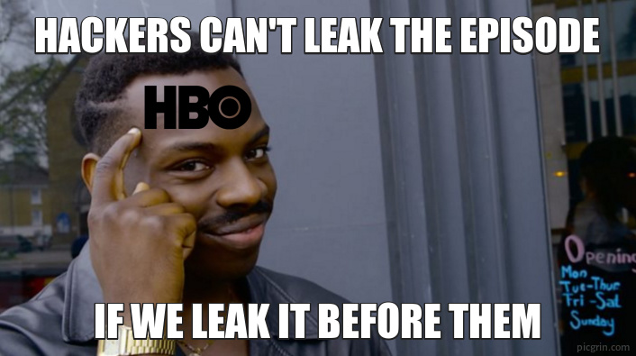 Hackers can't leak the episode