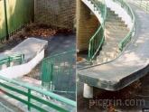 Rampa accesible para personas con discapacidad