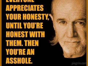 Being honest sucks