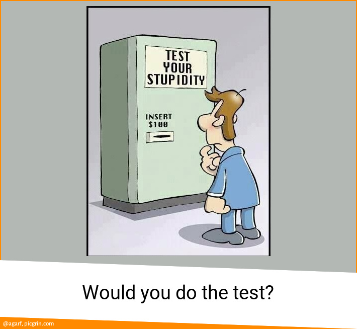 Would you do the test?