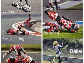 Motorcycle racing at its best