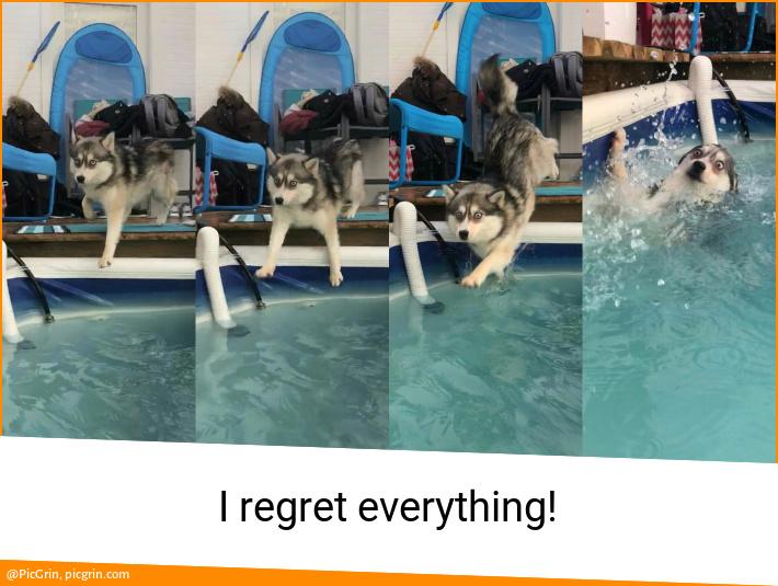 I regret everything!
