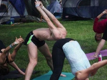 Interesting Yoga Move