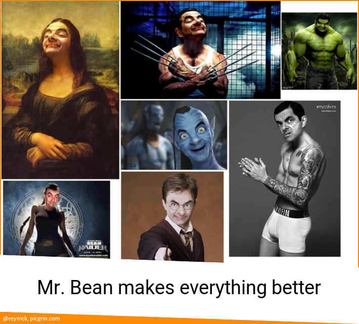 Mr. Bean makes everything better